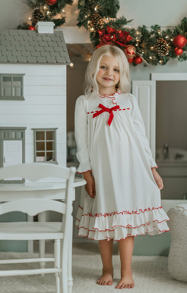 Long Sleeve Clara Christmas Gown