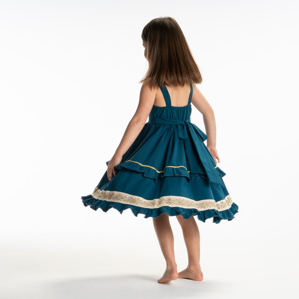 Courageous girl twirl dress