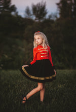 Toy Soldier twirl dress