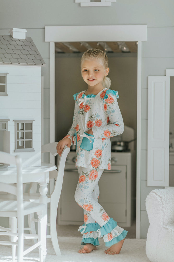 Garden Roses Two Piece Loungewear Set