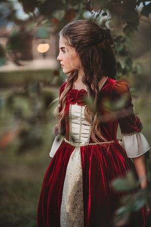 The Portrait Collection - Christmas Belle Ballgown