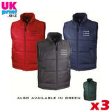 3 Bodywarmer Offer