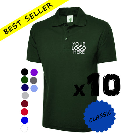 10 Polo Shirts for £60