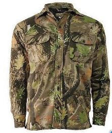 STORMKLOTH CAMOUFLAGE QUILTED PADDED SHIRT