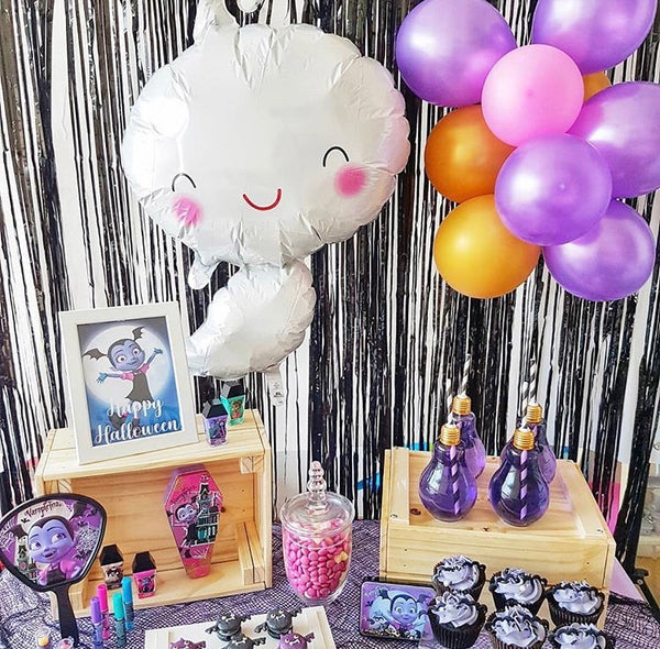 A Vampirina Treat Table by The Baking Experiment