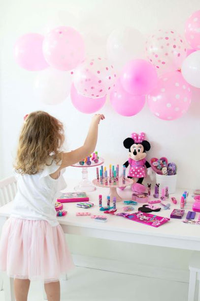 A Minnie Mouse Spa Play Date by Twinkle Twinkle Little Party