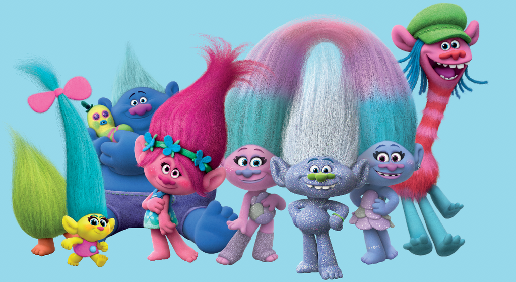 How to Host the BEST Trolls-Themed Slumber Party