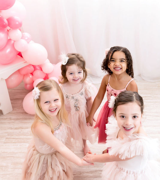 Pretty Pink Valentine's Day Playdate by One Stylish Party