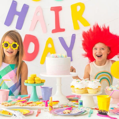 trolls hair for kids