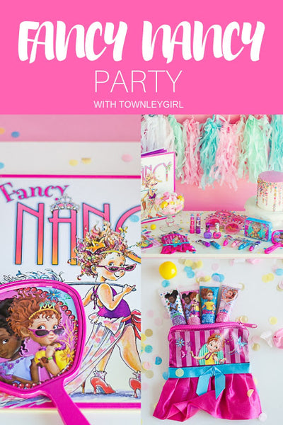 Fancy Nancy Party with Fawn Parties