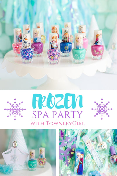 Frozen Spa Party with Fawn Parties – TownleyGirl