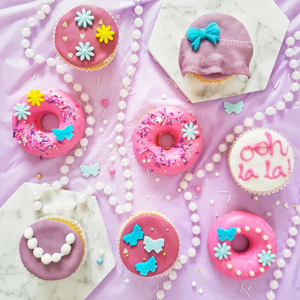 Fancy Nancy Donuts