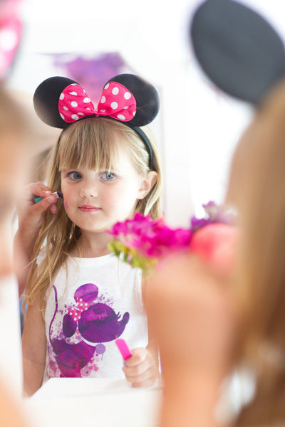 Minnie Mouse Kid Makeup