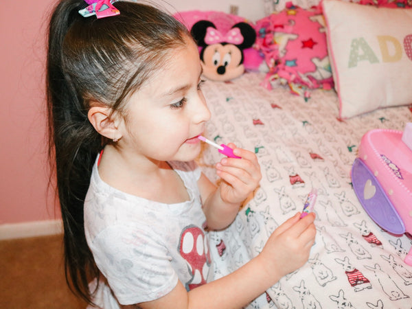 Sleepover Minnie Makeup