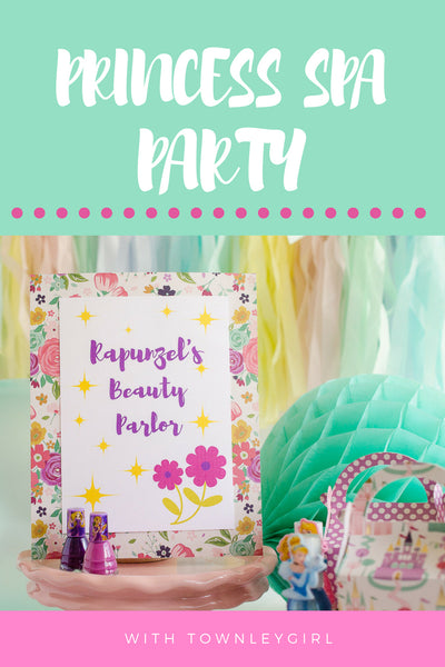 princess spa party