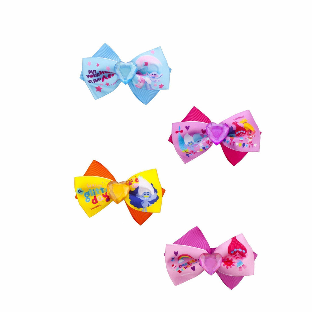 Trolls 4 Pack Heart Bows