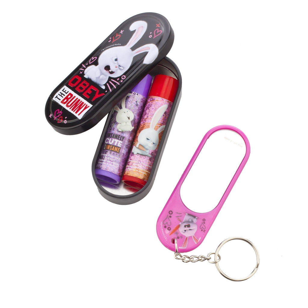 Pets 2 Pack Lip Balm with Mirror
