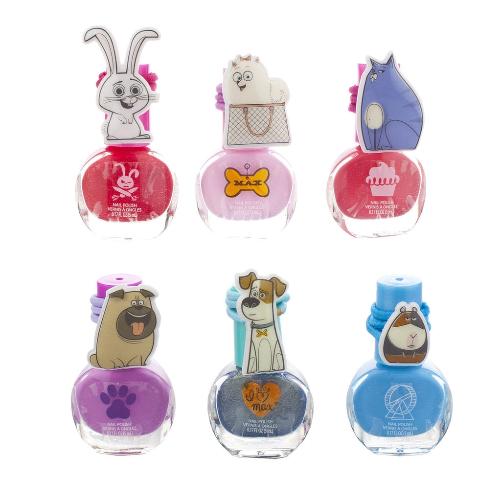 Pets 6 Pack Nail Polish Set