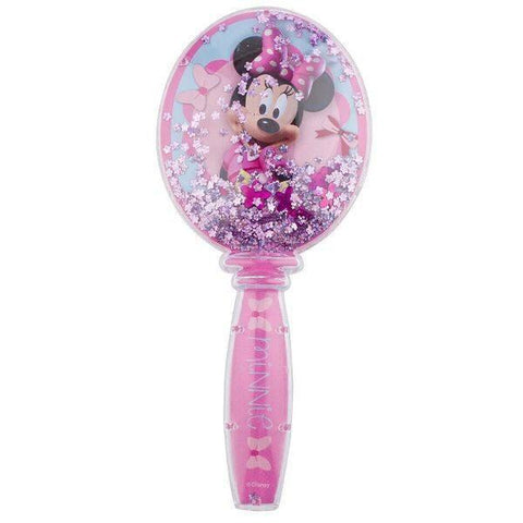 Minnie Mouse Glitter Globe Hair Brush