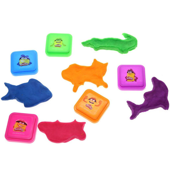Townley Girl Play-Doh Bath Soap for Kids, 5 Fabulous Colors of Moldable Soap, 0.9 ounces each