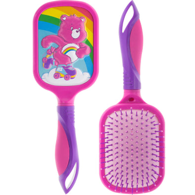 Townley Girl Care Bears Cheer 3D Pop Detangling Hair Brush for All Hair Types for Girls, Ages 3+