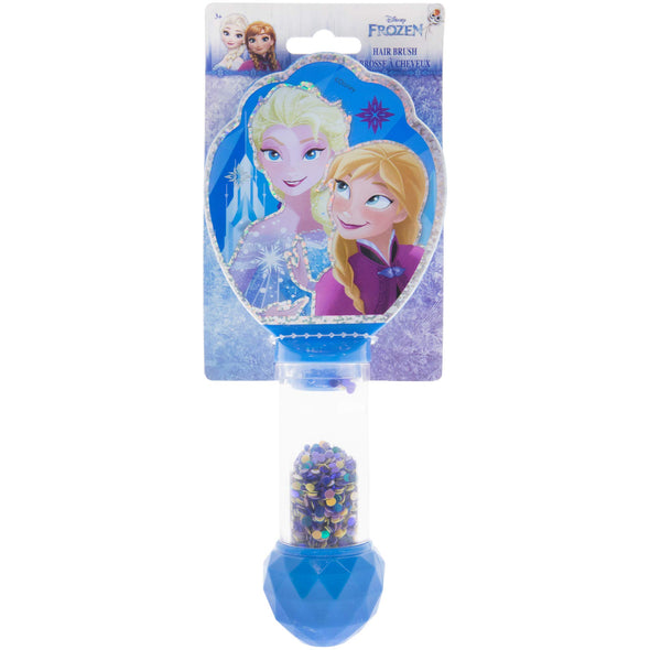 TownleyGirl Anna and Elsa Glitter Hair Brush