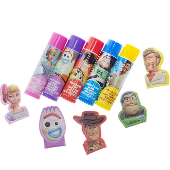 UPD Disney Toy Story 4 5Pk Lip Balm w/ Toppers