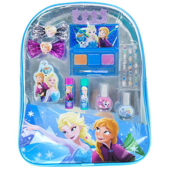 Townley Girl Disney Frozen Cosmetic Backpack Set