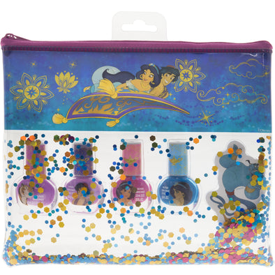 Aladdin nail polish and bag