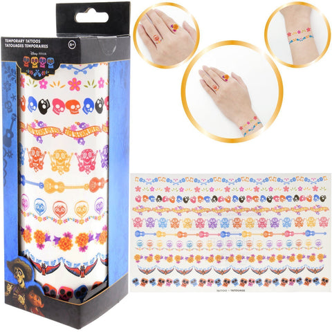 Coco Temporary Tattoo Set