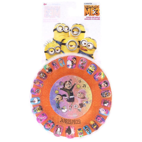 Despicable Me 3 Press-On Nail Wheel
