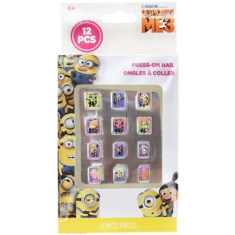 Despicable Me 3 12-Piece Press-On Nail Set