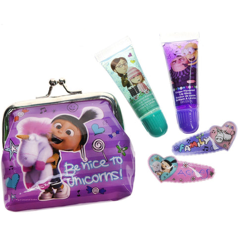 Despicable Me 3- 2 Pack Lip Tube with Purse