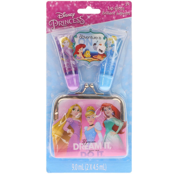 Disney Princess 2 Pack Lip Tube with Purse - Townleygirl