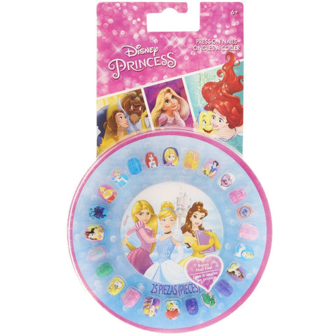 Disney Princess Press-On Nail Wheel