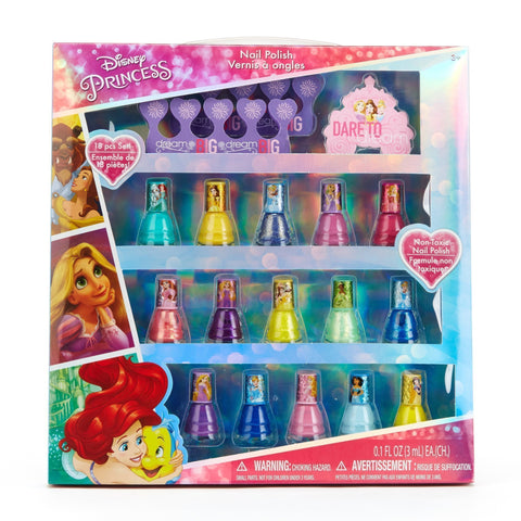 Disney Princess 15 Pack Nail Polish with Nail Files