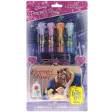 Beauty and the Beast 4 Pack Lip Gloss Set with Bonus Tin