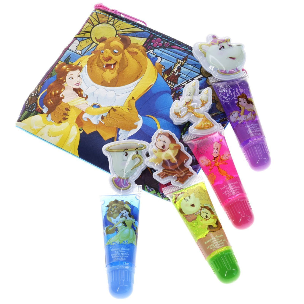 Beauty and the Beast Puffy Lip Gloss with Bonus Bag