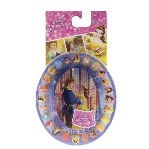 Beauty and the Beast Press- On Nail Wheel