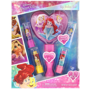 Disney Princess Lip Balms with Light-Up Mirror - Townleygirl