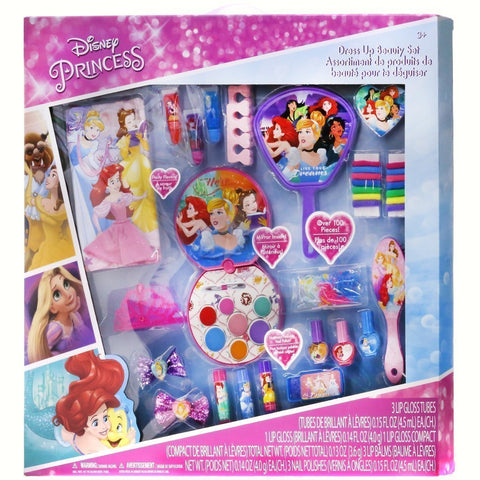Disney Princess Dress Up Beauty Set