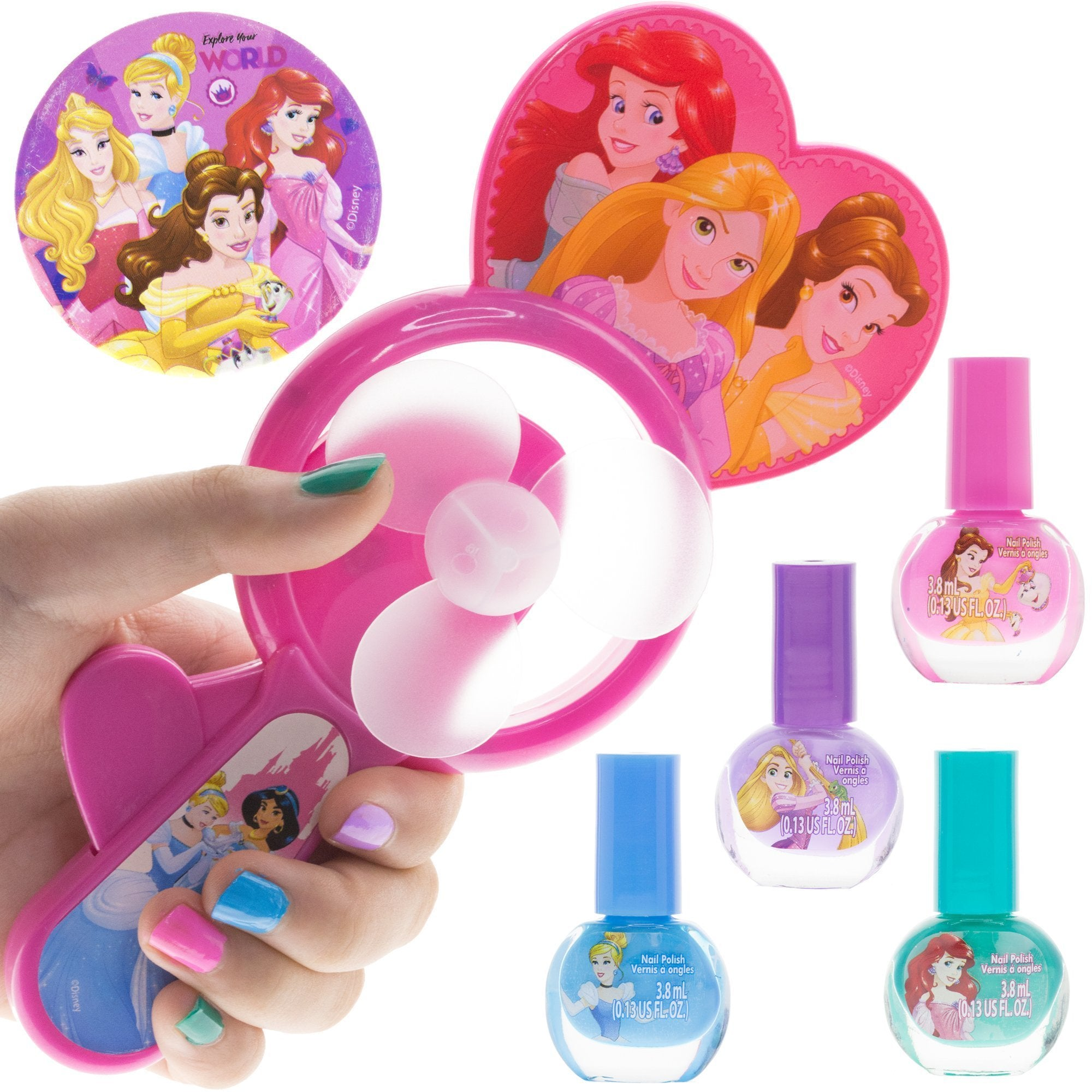 Disney Princess Nail Polish Set with Drying Fan – TownleyGirl