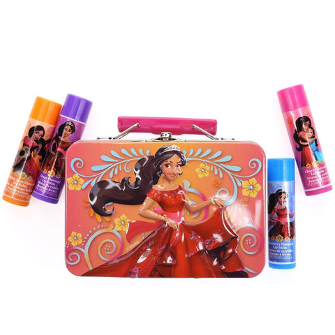 Elena 4 Pack Lip Balm with Carrying Case