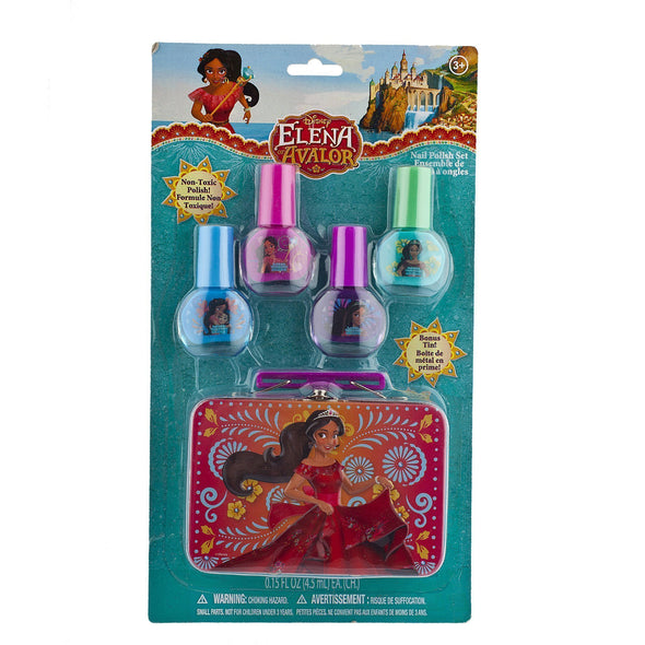 Elena 4 Pack Nail Polish with Tin - Townleygirl