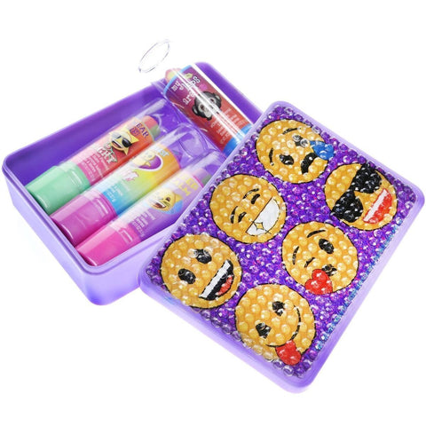Emoji Blinged Out Cosmetic Set