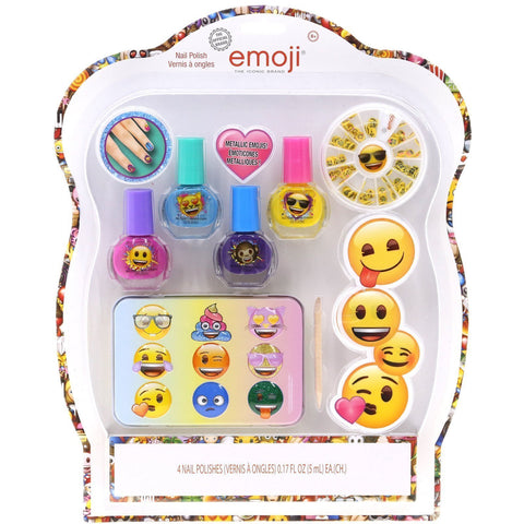 Emoji Nail Polish Set