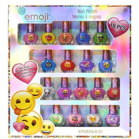 Emoji safe nail polish
