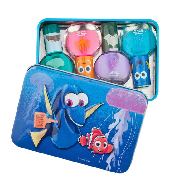 Finding Dory 4 Pack Nail Polish with Carrying Case - Townleygirl