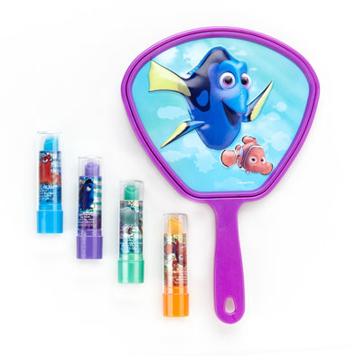 Finding Dory 4 Pack Lipstick with Mirror - Townleygirl