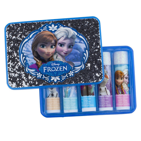 Frozen 5 Pack Lip Balm with Box